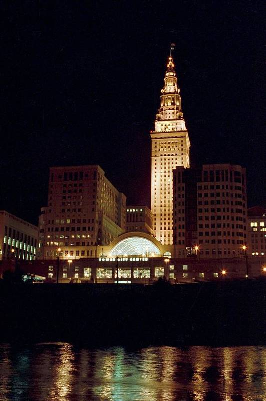 Cleveland Art Print featuring the photograph 070506-73 by Mike Davis