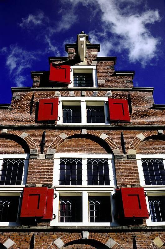 Dutch Art Print featuring the photograph Amsterdam Windows by Randall Paar