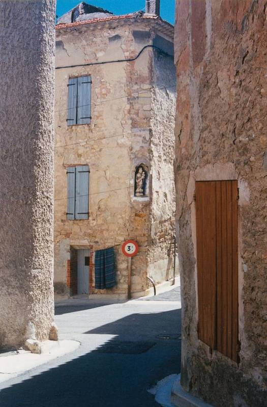 Provence France Art Print featuring the photograph Beaumes De Venise by Gary Peterson