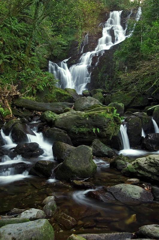 Torc Waterfall, Killarney National Park, Co. Kerry, Ireland by Ross Warner