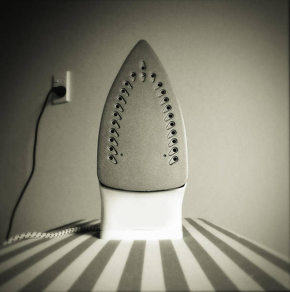 Retro Print featuring the photograph Iron by Les Cunliffe