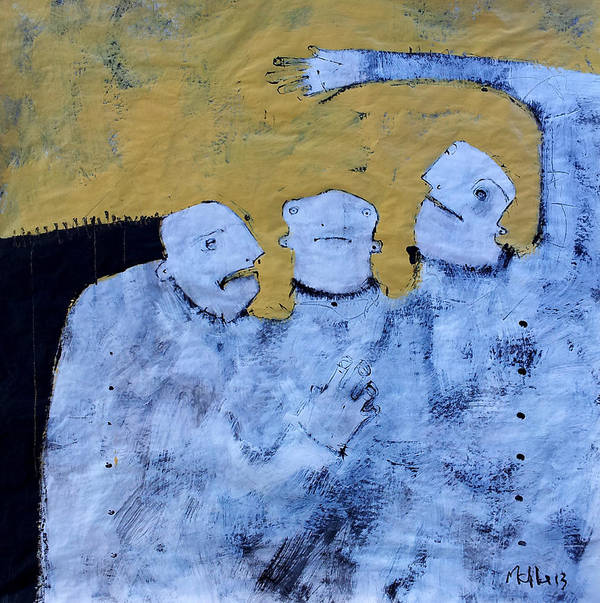 Age Art Print featuring the painting Aetas No 4 by Mark M Mellon