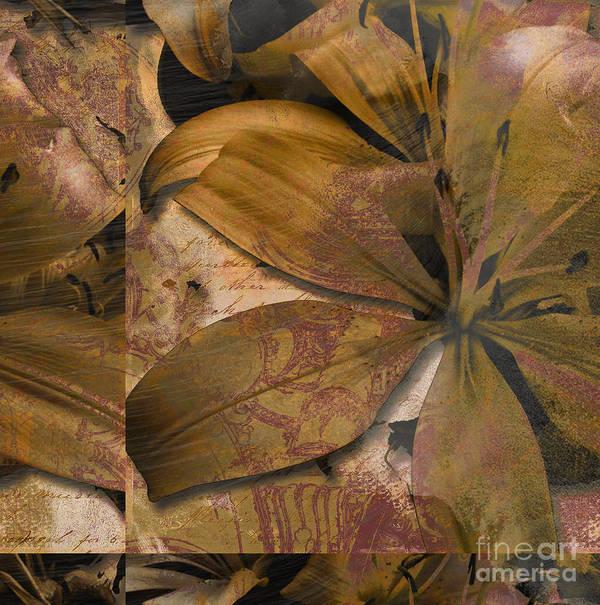 Art Print featuring the mixed media Alexia II by Yanni Theodorou