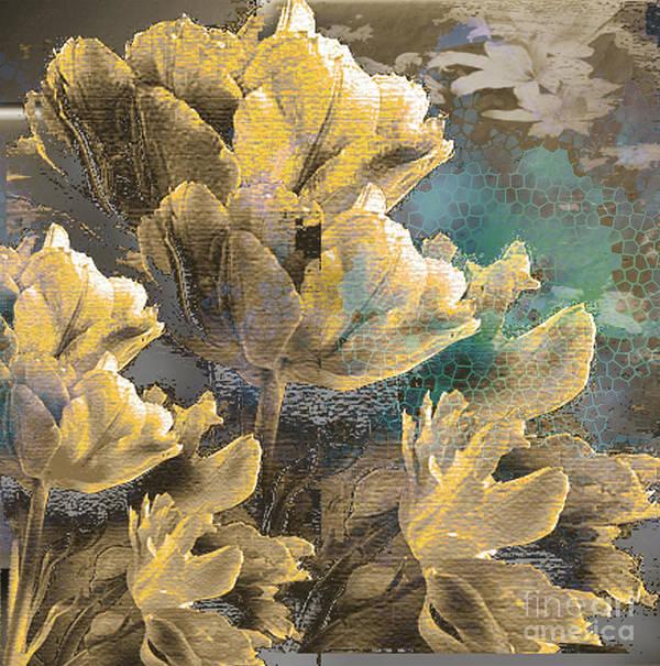 Art Print featuring the mixed media Beau by Yanni Theodorou