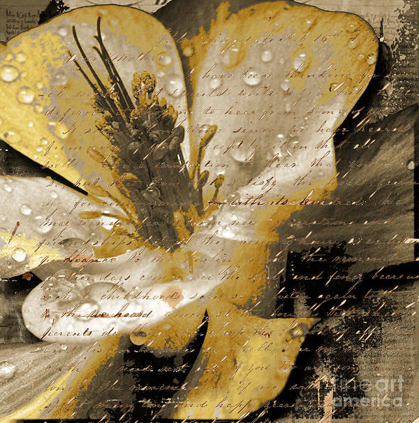Art Print featuring the mixed media Beautiful by Yanni Theodorou