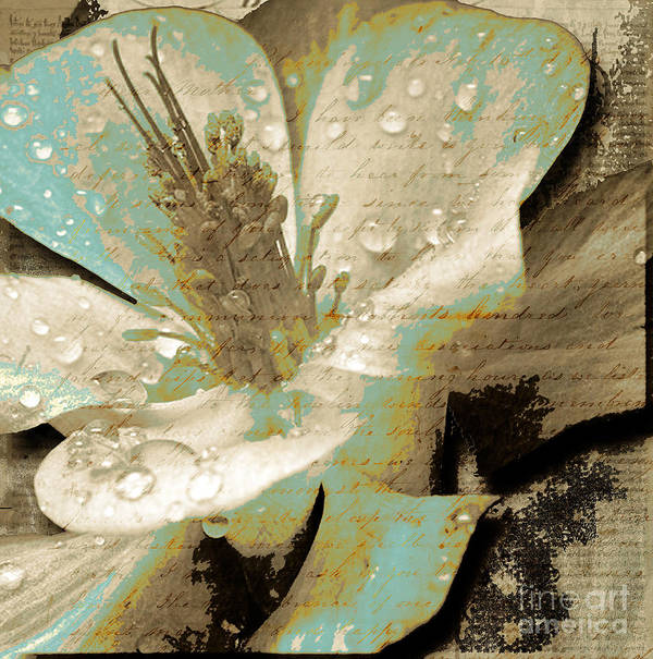 Art Print featuring the mixed media Beauty V by Yanni Theodorou