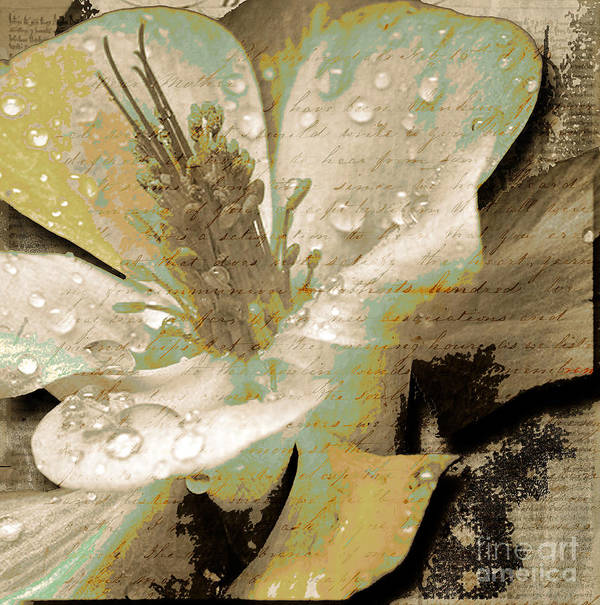 Art Print featuring the mixed media Beauty Vii by Yanni Theodorou