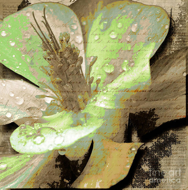 Art Print featuring the mixed media Beauty Viii by Yanni Theodorou