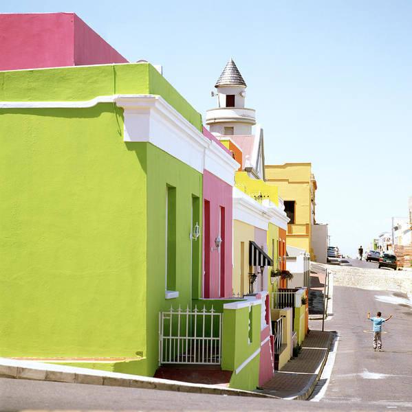 Bo Kaap Art Print featuring the photograph Chiappini Street by Shaun Higson
