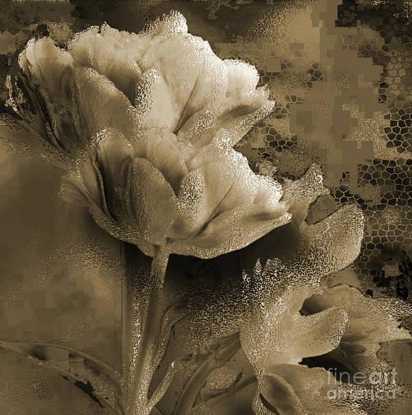 Art Print featuring the mixed media Elegance by Yanni Theodorou