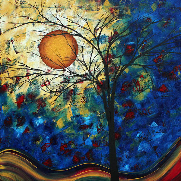 Decorative Art Print featuring the painting Feel The Sensation By Madart by Megan Duncanson
