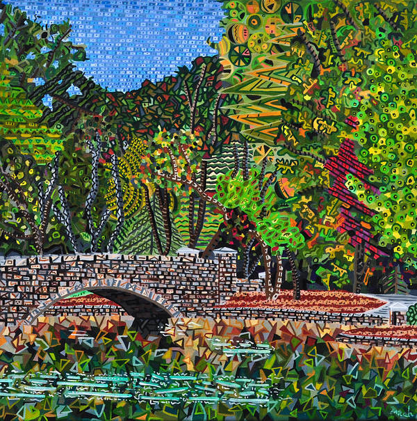 Freedom Park Art Print featuring the painting Freedom Park 3 by Micah Mullen