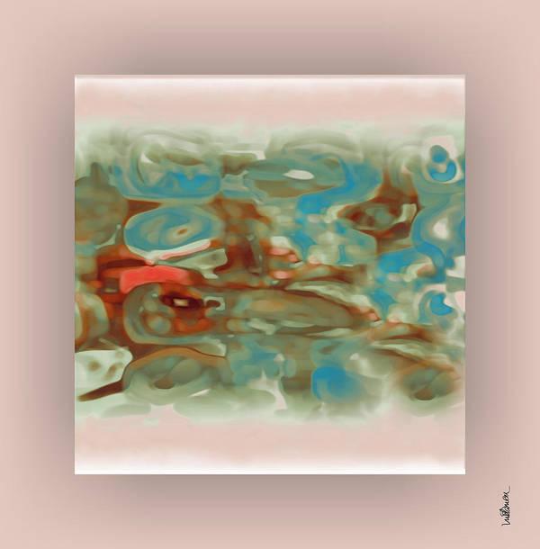 Pastel Art Print featuring the digital art Pastel 1 by Mihaela Stancu
