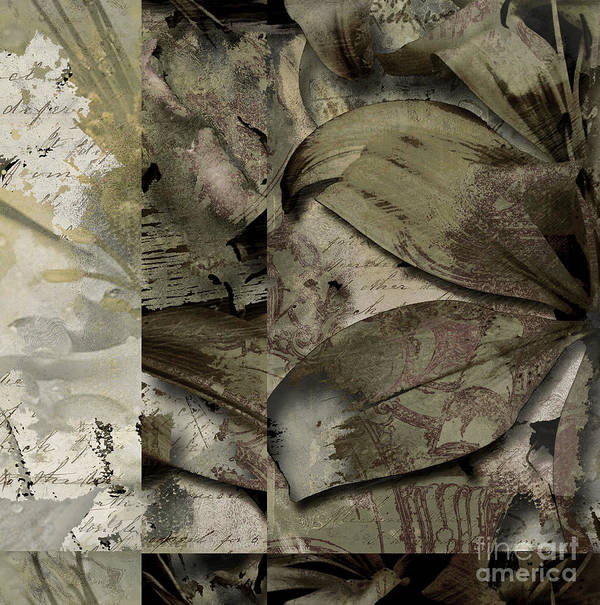 Art Print featuring the mixed media Peace IIi by Yanni Theodorou
