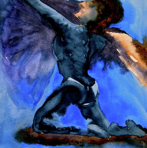 Ballet Art Print featuring the painting Support by Beverley Harper Tinsley