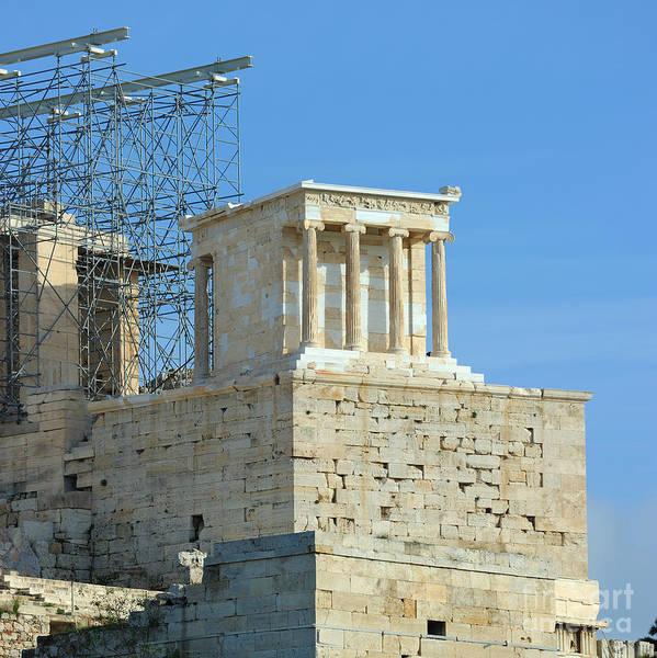 Acropolis Art Print featuring the photograph Temple Of Athena Nike by Grigorios Moraitis