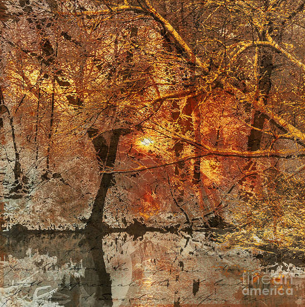 Art Print featuring the mixed media Time IIi by Yanni Theodorou