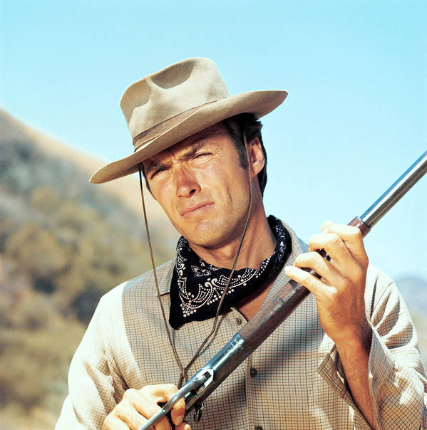1950s Tv Art Print featuring the photograph Rawhide, Clint Eastwood, 1959-66 by Everett