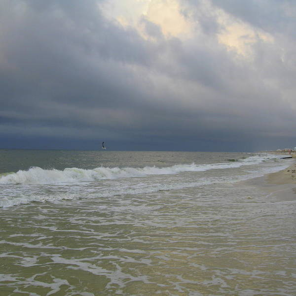Storm Art Print featuring the photograph After The Storm 5 by Eric Ward