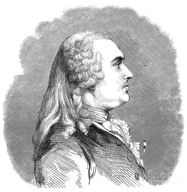 18th Century Art Print featuring the photograph Anne Robert Turgot by Granger