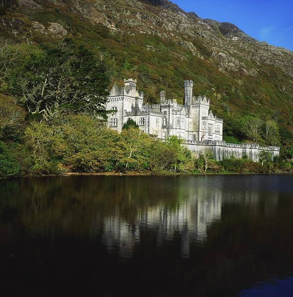 Architectural Heritage Art Print featuring the photograph Co Galway, Kylemore Abbey by The Irish Image Collection
