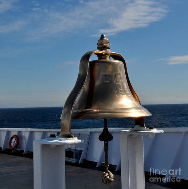 Nautical Art Print featuring the photograph Coho Bell 2 by Tanya Searcy
