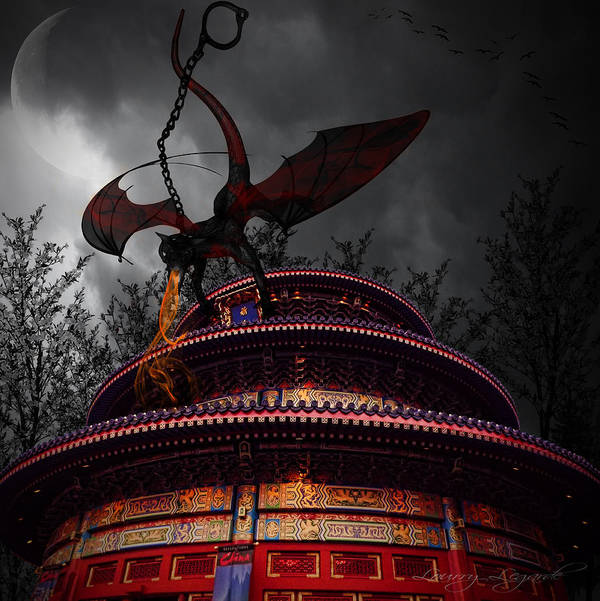 Walt Disney Art Print featuring the photograph Unchained Protector by Lourry Legarde