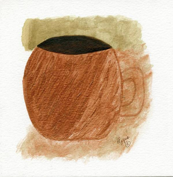 Cup Art Print featuring the painting Mug Moments by Stephanie Agliano