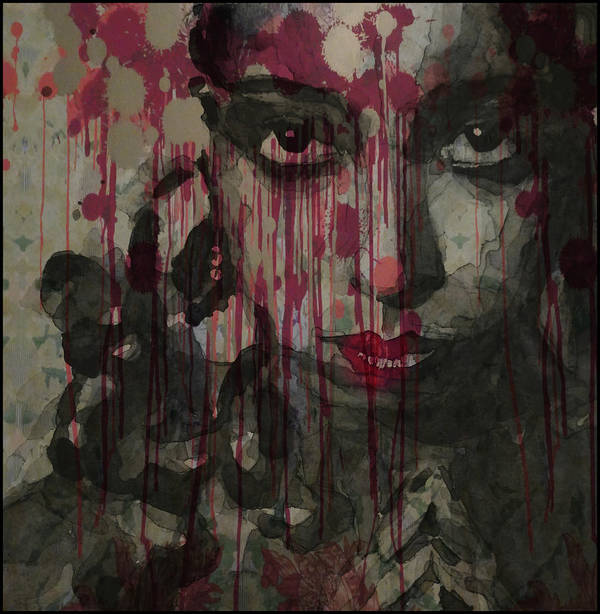 Josephine Baker Art Print featuring the painting Bye Bye Blackbird by Paul Lovering