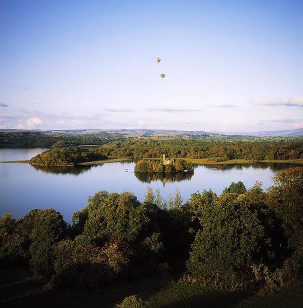 Adventure Sports Art Print featuring the photograph Castleisland Lough Key Forest Park by The Irish Image Collection