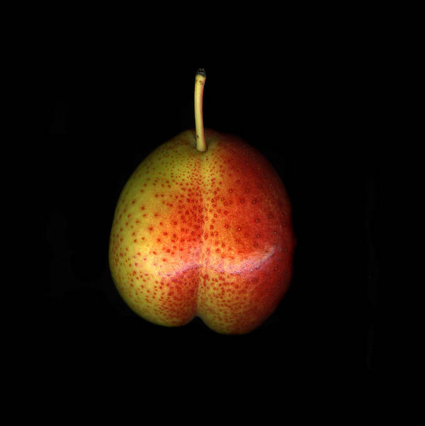Cuisine Art Print featuring the photograph Cosmic Pear by Christian Slanec