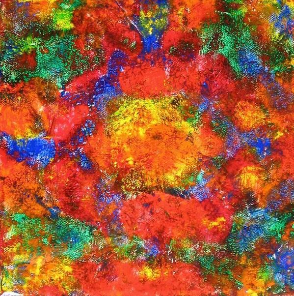 Acrylic Art Print featuring the painting Earnest IIi by Sophia Elise