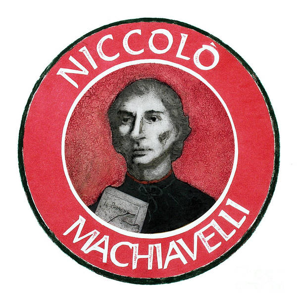 Machiavelli Art Print featuring the mixed media Machiavelli by Paul Helm