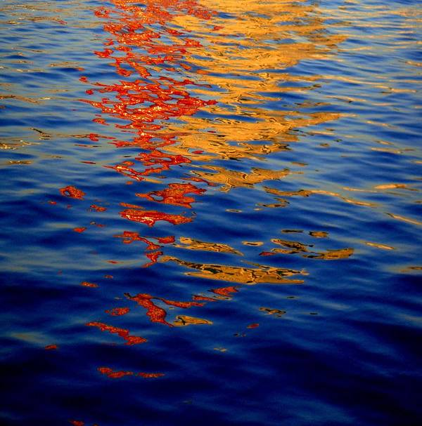 Waterscape Art Print featuring the photograph Reflections On Kobe by Roberto Alamino