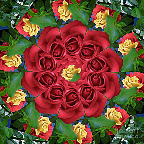 Ring Art Print featuring the photograph Ring Around The Roses by Renee Trenholm
