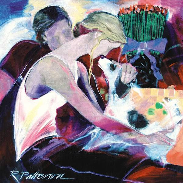 Figurative Art Print featuring the painting The Gift by Ron Patterson