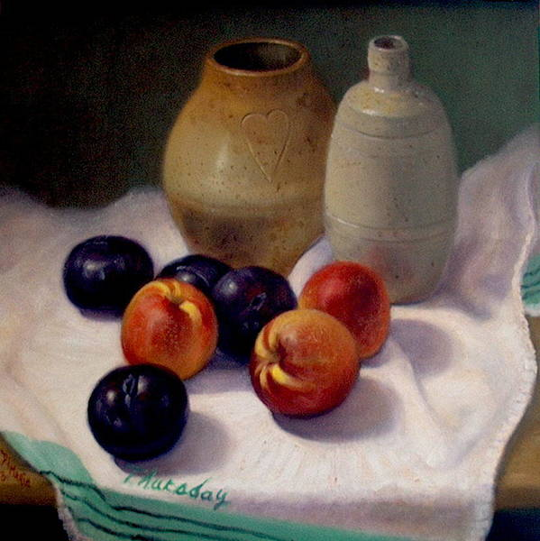 Realism Art Print featuring the painting Thursday by Donelli DiMaria