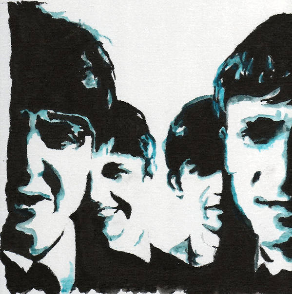 Beatles Art Print featuring the painting Twist And Shout by Matt Burke