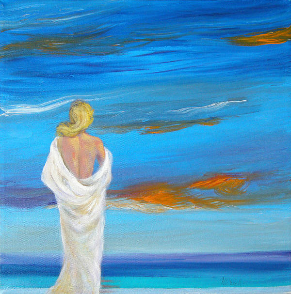 Art Print featuring the painting You And Me by Jeannette Ulrich