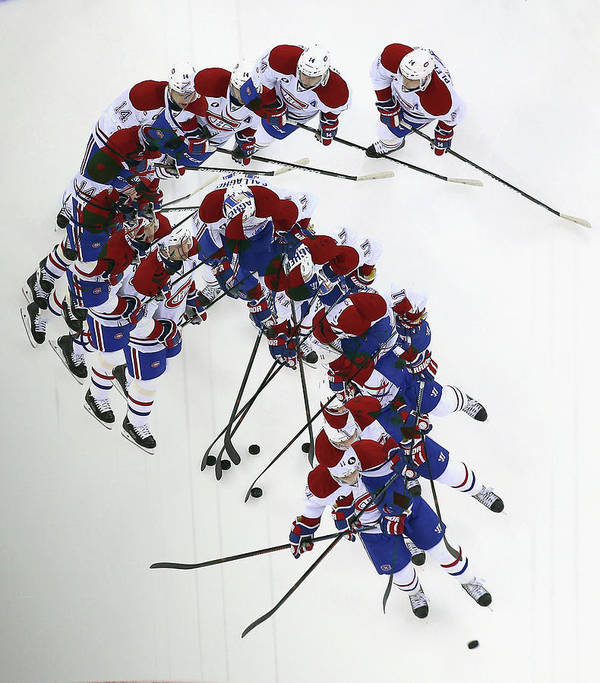 Brendan Gallagher Art Print featuring the photograph Montreal Canadiens V New Jersey Devils by Bruce Bennett