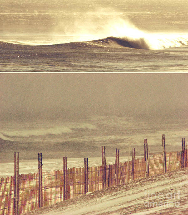 Winter Art Print featuring the photograph Distant Shores by Dana DiPasquale