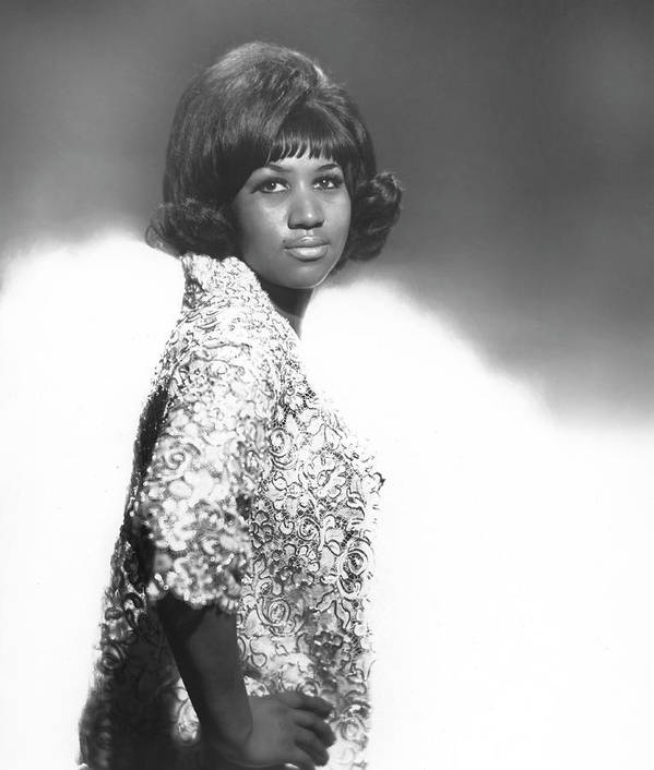 Singer Art Print featuring the photograph Aretha Franklin Portrait by Michael Ochs Archives