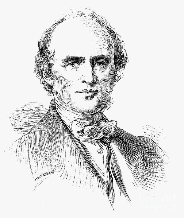 Engraving Art Print featuring the drawing Charles Lyell, Scottish-born British by Print Collector