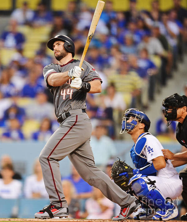 Game Two Art Print featuring the photograph Paul Goldschmidt by Harry How