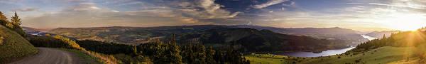 Art Print featuring the photograph Gorge Sunset by Joseph Broschart