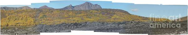 Landscape Art Print featuring the photograph On The Matanuska Glacier by Ron Bissett