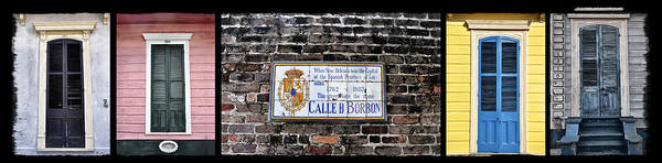Calle D Borbon Print featuring the photograph Calle D Borbon by Bill Cannon