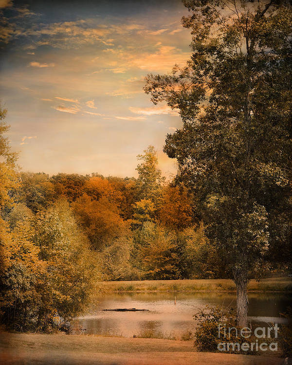 Autumn Art Print featuring the photograph Impending Autumn by Jai Johnson