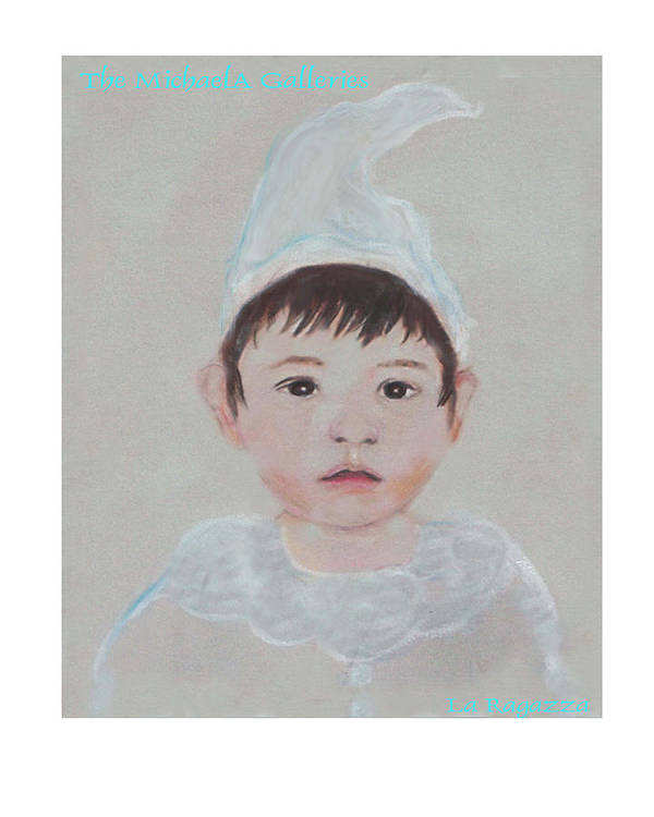 Child Art Print featuring the painting La Ragazza by Michela Akers