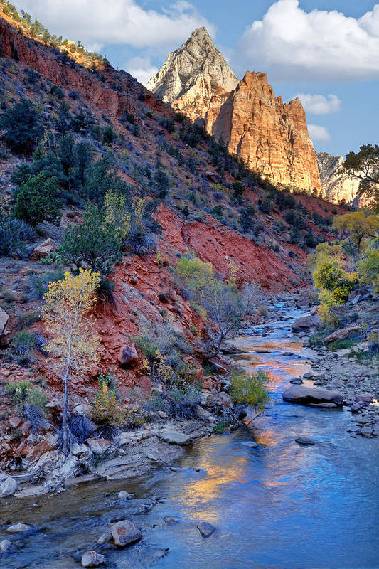 Zion National Park Art Print featuring the photograph Zion National Park by Utah Images